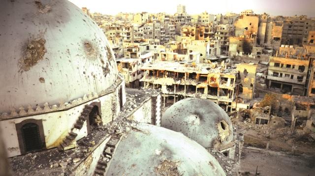 Исламские города превращаются в руины / Источник фото: Yenı Şafak