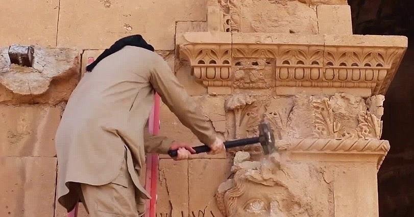 ИГИЛ грабит и распродает культурные ценности мусульманских стран / Источник фото: sonsuzark.com