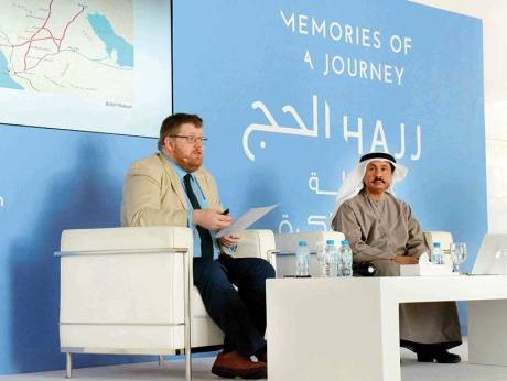 Фергус Риок и доктор Хамад бин Серай. Источник: http://gulfnews.com