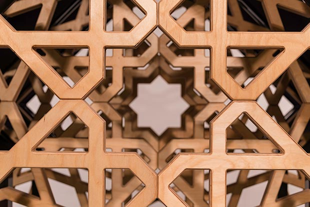 Patrick D. Wilson, Internal Expanse, detail / Photo © Islamic Arts Magazine