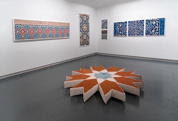 Natalie Fisher, Ghorzah (Stitch) / Photo © Islamic Arts Magazine
