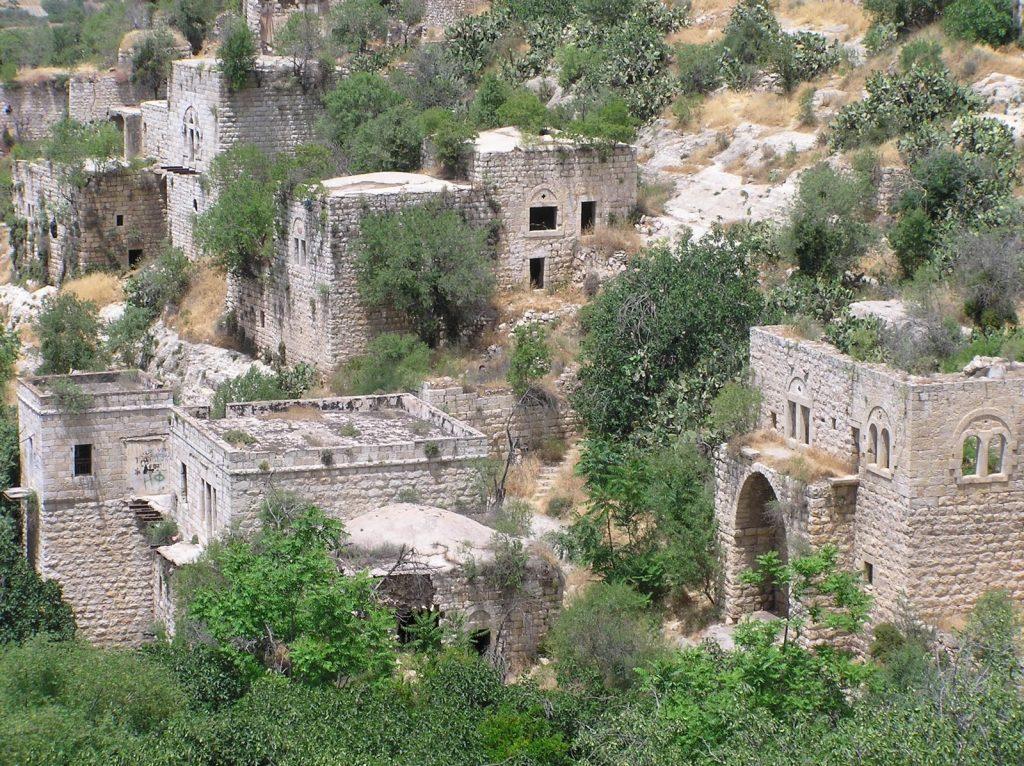 Бывшая палестинская деревня Лифта в израильской части Иерусалима / Источник фото: Uprooted Palestine