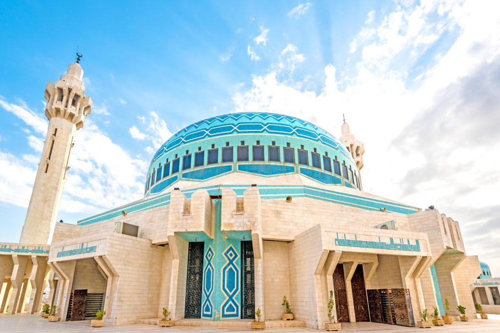 Мечеть короля Абдаллы I в Аммане – Иордания | Исламосфера